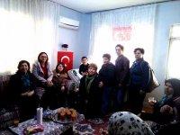 CHP'li kadınlar, Afrin Kahramanını ziyaret etti