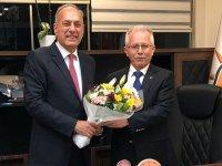 ATSO Başkan Adayı Erdayıoğlu'ndan AK Parti'ye ziyaret