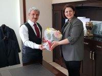 Akhisar İYİ Parti'den Kaymakam Peker'e ziyaret