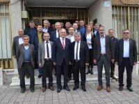 ATSO Başkan adayı Erdayıoğlu, Ziraat Odasını ziyaret etti