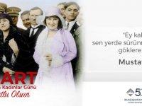 Bahçeşehir Koleji 8 Mart Kadınlar Günü mesajı