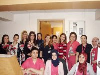 Özel Akhisar Hastanesi kadınlar gününü kutladı