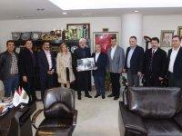 ATSO Başkan adayı Boşnak, Başkan Hızlı'yı ziyaret etti
