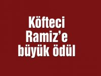 Köfteci Ramiz'e büyük ödül