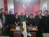 CHP'den Türk Eğitim-Sen'e ziyaret