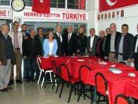 Erdayıoğlu, MHP'yi ziyaret etti
