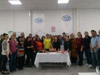 TYH Tekstil Gıdacılar Şubesi, İşkur 3. ve 4. grup stajyer mezunlarını verdi