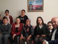 Süleymanlı Şehit Mehmet Dönmez Ortaokulu' ndan Şehit Ailesine Ziyaret
