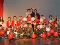 Misak-ı Milli 1.sınıf C grubunda ilk okuma bayramı ve 18 Mart programı