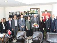 İyi Parti'den Akhisar Belediye Başkanı Salih Hızlı'ya ziyaret