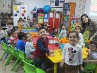 """Şehit Yüzbaşı Necdi Şentürk Anaokulunda """"Beslenme dostu okul"""" projesi"""