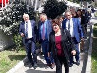 Manisa Büyükşehir, Akhisar kadın el emeği pazarını ziyaret etti