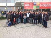 Akhisarlı elektrikçiler, elektrik ve elektronik fuarına katıldı