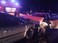 Akhisar'da feci kaza 1 ölü, 2 yaralı