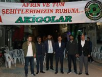 1970 Akigo Taraftarlar Derneğinden Afrin ve tüm şehitlere mevlit okuttu