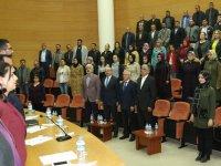 AK Parti Akhisar olağan danışma toplantısı meclis salonunda yapıldı