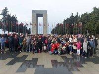 Akhisarlı Özel Çocuklar Çanakkale şehitliğini ziyaret etti
