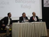 Bahçeşehir Uğur Eğitim Kurumları kurucusu Enver Yücel, Akhisar kampüsünü ziyaret etti