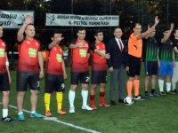 İlçe Adliyeler arası 6. halısaha futbol turnuvası başladı