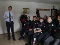 Akhisar itfaiye personeline doğalgaz kazaları semineri verildi