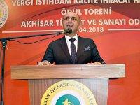 ATSO Vergi İstihdam Kalite, İhracat Hizmet Ödül Töreninde 275 Kişiye plaket verildi