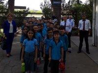 Misak-ı Milli İlkokulu öğrencilerden Meteoroloji Merkezine ziyaret