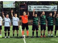 İlçe Adliyeler arası futbol turnuvasında dördüncü gün