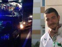 Otobüsün çarptığı taraftar hayatını kaybetti