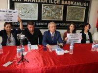 """CHP ilçe teşkilatı; """"OHAL değil demokrasi istiyoruz"""""""