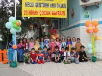 Şehit Yüzbaşı Necdi Şentürk Anaokulunda 23 Nisan şenlikleri başladı