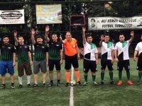 İlçe Adliyeler arası futbol turnuvasında beşinci gün