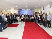 Başkan Hızlı ve beraberinde heyet, Makedonya'da Vizyon Üniversitesini ziyaret etti