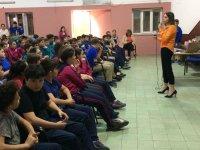 Ali Şefik Ortaokulu'nda, Beslenme Alışkanlığı ve Obezite konulu etkinlik düzenlendi