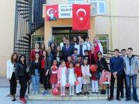 Eksen Lisesi, 23 Nisan'ı Başlamış İlkokulu ve Ortaokulu öğrencileriyle kutladı