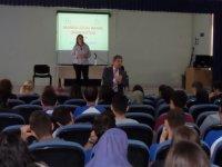 Çağlak Anadolu Lisesinde üniversite tanıtım günleri devam ediyor