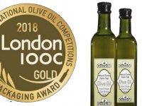 Akhisarlı zeytinyağı firmasına, İngiltere'den altın madalya
