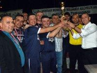 İlçe Adliyeler arası futbol turnuvasında Hazır Kuvvet (Cezaevi) şampiyon oldu