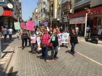 1 Mayıs İşçi Bayramında Akhisar'da yürüdüler