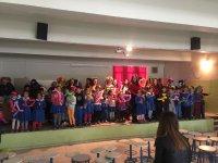 Zeynep Gülin Öngör MTAL'de ilkokul öğrencilerine gösteriler yapıldı