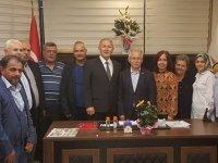 MHP Akhisar'dan AK Parti'ye Cumhur İttifakı ziyareti