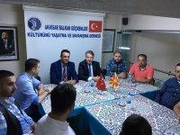 Ergün Karaoğlu'nun ilk ziyareti Balkan Göçmenleri'ne oldu