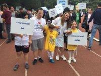 Akhisarlı özel çocuklar, 12.Uluslararası Özel Sporcular Atletizm Şenliğine katıldı