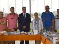 Ergün Karaoğlu Akhisarlı Gazeteciler ile kahvaltıda buluştu