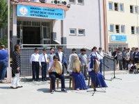 Akhisarlı ve Bosnalı öğrenciler Çağlak Festivali'nde buluştu