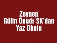 """Zeynep Gülin Öngör MTAL Gençlik ve Spor Kulübü """"Yaz Okulu"""""""