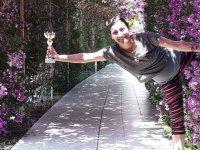 Yoga Eğitmeni Ayşe Özçelik Gönül Yoga Festivalinde ödül aldı