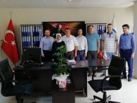 Akhisar SMMM'den Sosyal Güvenlik Merkezine ziyaret