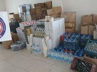 Akhisar'da kaçak içki operasyonu