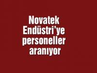 Novatek Endüstri'ye personeller aranıyor