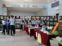Ülkü Ortaokulu resim sergisi açıldı
